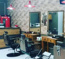 Vista Cadeira de Barbeiro barbearia